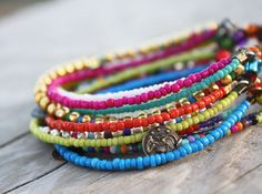 Color Chic Bead Bracelet, that's seems easy enough