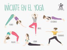 #Infografía iníciate en el #Yoga #Infography