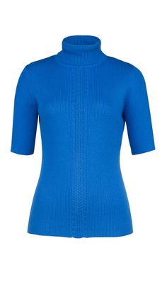 """CERULEAN"" turtleneck sweater 