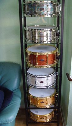 Craviotto Snare Drums, gotta get some!