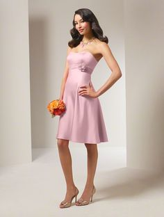Bridesmaid dresses for wedding:   Style 7074 Color:Tea Rose