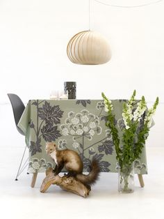 Umbrellifer Green Dust - design by Susanne Schjerning