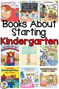 Books About Starting Kindergarten, Kindergarten Books, Back-to-School Books, Kindergarten Picture Books, Kindergarten Read Alouds