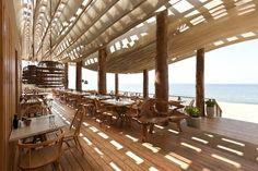 Greece - beach bar