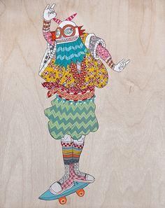 Ferris Plock - Ferris Plock | SCOPE 2012 | New York #Graphic Illustration