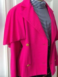 Vintage jacket Patrick Kelly www.luxurydejavu.com we believe in pink