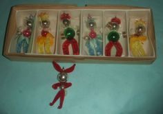 Vintage-Figurine-Christmas-Tree-Decorations-circa-1960s-x-7