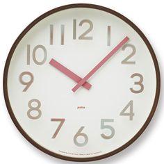 【楽天市場】タカタレムノス掛け時計 potto(ポット)【今春新作】◆:インテリア マルキン楽天市場店