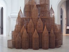 """Cambodian artist Sopheap Pich develops large-scale sculptures that draw on the history of his native country, daily life and own personal. Conceptual Sketches, Conceptual Design, Cambodian Art, Singapore Art, Different Forms Of Art, Native Country, Space Architecture, Architecture Models, Construction"