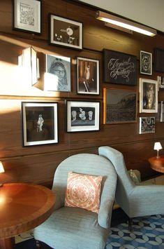 Soho Beach House Lobby Art / Chairs