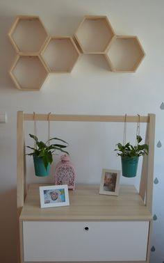 KaZu Handmade półki heksagonalne plastry miodu w KaZu  na DaWanda.com