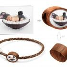 Personalized wooden fits Pandora charm with your own design