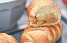 Petits pain au lait ribot et pommes caramélisée