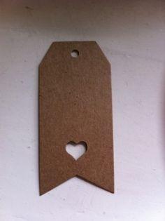 Ga je trouwen? Met de kraft labels van Stempelfun, maak je het helemaal af! #kraftlabels #stempelfun