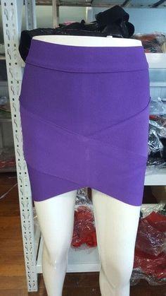 five collors tight sexy bandage skirt women mini Skirts