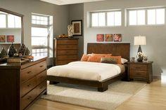 Der Zen-Raum: all unsere Inspirationsideen Feng Shui Rustic Master Bedroom, Queen Bedroom, Modern Bedroom, Bedroom Furniture Sets, Bedroom Sets, Bedroom Decor, Bedroom Colors, Furniture Design, Bedrooms