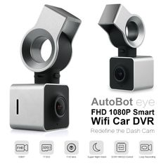 Autobot Eye Smart Wifi Car DVR FHD 1080P Auto Dash Camera Digital Dashcam Video Recorder G-Sensor GPS Night Vision 150 Degree