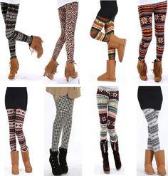 Sweater Leggings under $6..