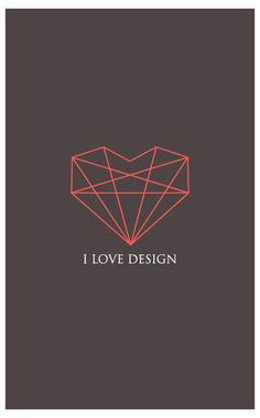 I love design #design #graphicdesign #inspiration