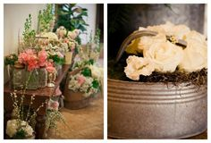 deco mariage champetre chic et un optimum de fleurs