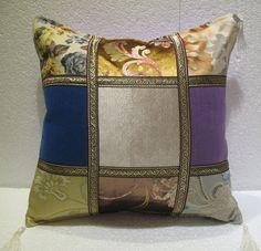 patchwork pillow cushion cover home decor modern decoration sofa throw mod 62 #Handmade #ArtDecoStyle