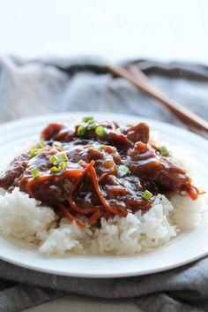 Slow Cooker Mongolian Beef – Six Sisters' Stuff
