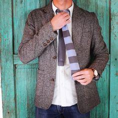 33   Lookin' goooood  www.treinta-tres.com #33 #tie #knittie #wool #coolwool