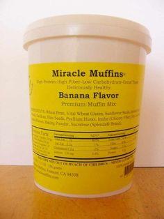 Miracle Muffins Mix  Banana  Make 1236 muffins  Splenda -- Visit the image link more details.