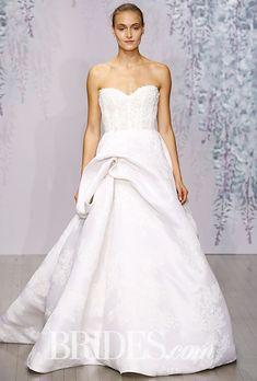 Monique Lhuillier Wedding Dresses - Fall 2016 - Bridal Runway Shows - Brides.com | Brides
