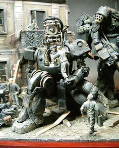 Fantasy Model, Video Game Cosplay, Sci Fi Models, Suit Of Armor, Inspirational Artwork, Gundam Model, Art Model, Old Toys, Dieselpunk