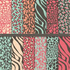 Check out Safari Digital Paper Pack by YenzArtHaut on Creative Market