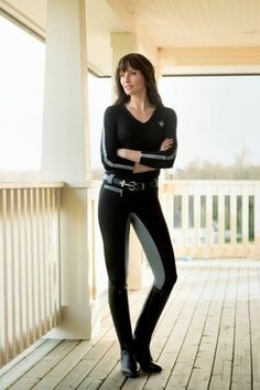 Exclusively Equestrian Hkm Marga Full Seat Breeches Love