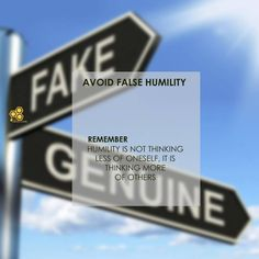 Today's honey🍯 December 2018 Avoid False Humility Humility Series 8 Almost every authentic thing has a counterfeit. Humility is not excluded from. Todays Devotion, Daily Devotional, Humility, Honeycomb, Pride, December 12, Facebook, Gay Pride