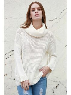 SHARE & Get it FREE   Split Turtleneck Pullover SweaterFor Fashion Lovers only:80,000+ Items • New Arrivals Daily Join Zaful: Get YOUR $50 NOW!