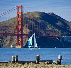 San Fransisco-Loved sailing under the bridge!