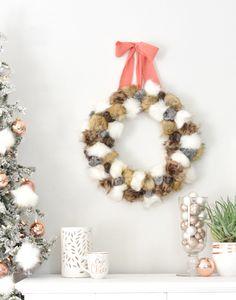 pom-pom-wreath-and-tree