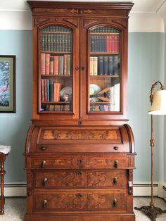 18 best victorian cylinder desks images in 2019 antique furniture rh pinterest com