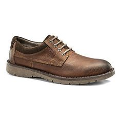 Men's Dockers Banewell Plain Toe Derby Red Crazy Horse