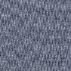 Robert Kaufman Chambray Union - Indigo Herringbone