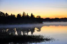 en tidig morgon när jag skulle få Lancelot att somna i bilen, så måste jag stanna och ta ett foto en tidigt Oktober morgon