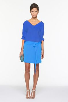 Love the color combo love DVF