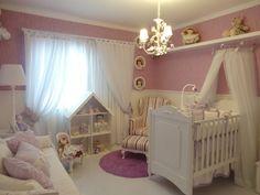 Quartos de meninas bebês - veja decorações lindas!