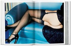 """The ideal gift for lovers of Helmut Newton's erotic photography, Taschen's publication """"SUMO"""" is now available in an XL format, just in time for the holidays. Helmut Newton, Isabella Rossellini, Steven Meisel, West Hollywood, Vogue, Erotic Photography, Fashion Photography, Colour Photography, Chairs"""