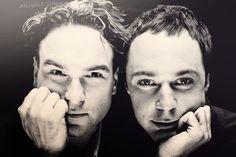 Dr's Leonard Hofstadter & Sheldon Cooper