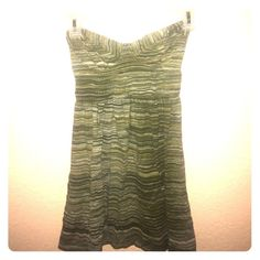 Strapless Dress **Sale*** Cute beach style dress great green color for a laid back look this SUMMER!!  O'Neill Dresses Strapless