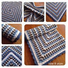 An old favourite... . . #crochet #crochetersofinstagram #crochetblanket #grannysquare #blue #grey #baby #babyblanket #newbaby #babygift #yarn #picoftheday #love #nofilter by opalandplum