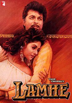 Lamhe Hindi in Ultra HD - Einthusan Hindi Bollywood Movies, Bollywood Posters, Old Film Posters, Cinema Posters, Srk Movies, Good Movies, Watch Movies, Download Free Movies Online, Hindi Movies Online