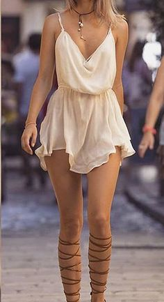 Mode Outfits, Chic Outfits, Summer Outfits, Sexy Dresses, Short Dresses, Fashion Dresses, Boho Fashion, Fashion Looks, Womens Fashion