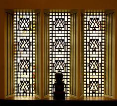 Eliel Saarinen House, built in 1930 at the Cranbrook School of Art, MI.