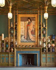 La Princesse du pays de la porcelaine — or The Princess from the Land of Porcelain by James McNeill Whistler (1834-1903).